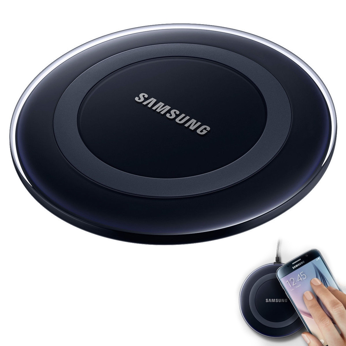 samsung kabellose qi induktive ladestation dock wireless. Black Bedroom Furniture Sets. Home Design Ideas